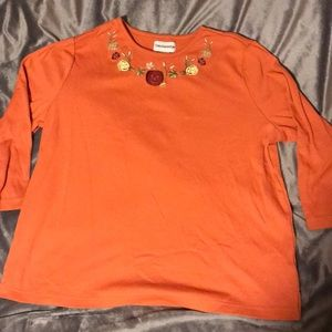 (Not Ugly) Fall/Halloween top. Size M
